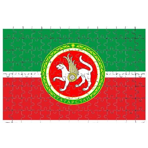 Магнитный пазл Флаг Татарстана