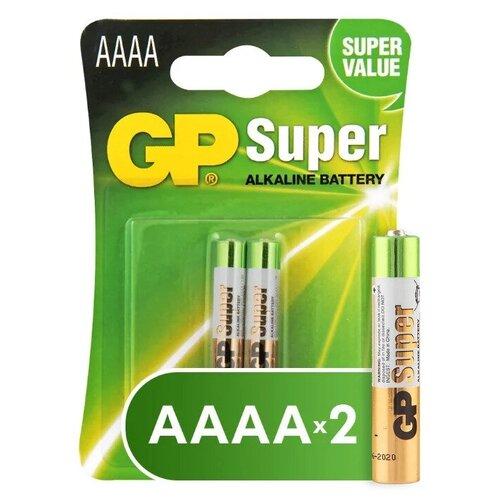 Фото - Элемент питания GP AAAA Super Alkaline Battery (2 шт) элемент питания gp high voltage 476a 6v 1 шт