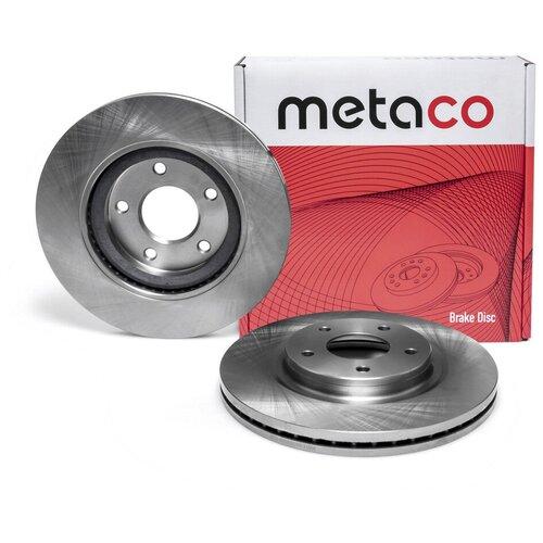 Диск тормозной передний вентилируемый Metaco 3050-003