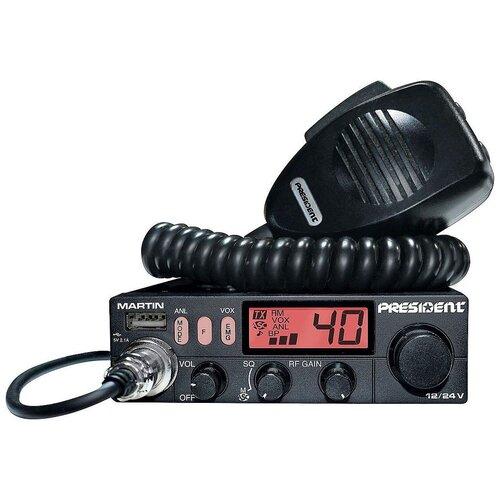 Автомобильная радиостанция PRESIDENT MARTIN 12/24V