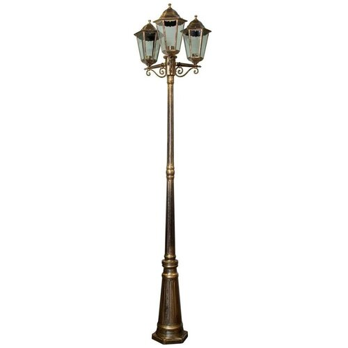 Фото - Садово-парковый светильник Feron Классика 6215 наземный. Черное золото feron уличный наземный светильник dh027 650 11816