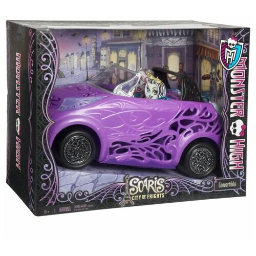 Фото - Автомобиль Monster High Кабриолет Скариж, Mattel легковой автомобиль mattel