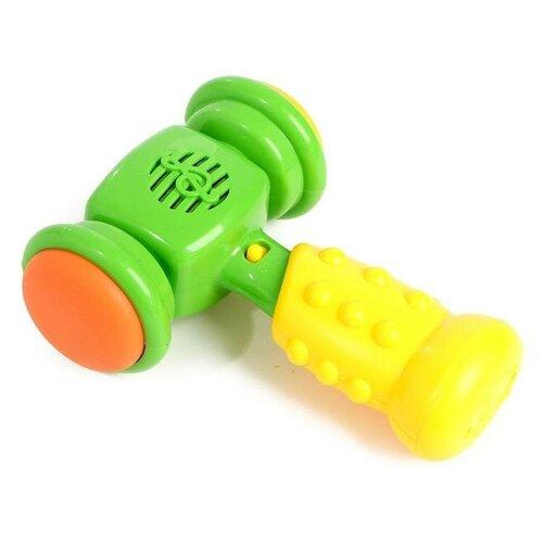Купить Развивающая музыкальная игрушка «Весёлый молоток», со световыми и звуковыми эффектами, цвета микс 4534599, Zabiaka, Развивающие игрушки