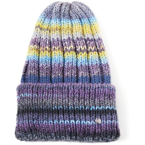 шапка женская finn flare цвет ярко синий a20 11148 111 размер 56 Шапка женская Finn Flare, цвет: синий A20-32142_100, размер: 56