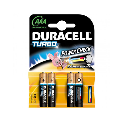 Фото - Батарейки щелочные Duracell Ultra AAA/LR03, 4 шт батарея duracell ultra power lr03 4bl aaa 4шт