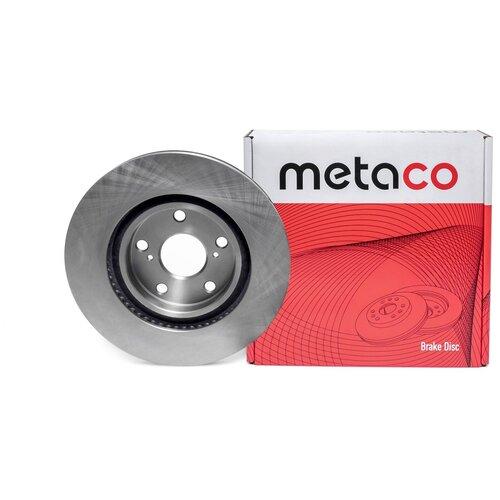 Диск тормозной передний вентилируемый Metaco 3050-006