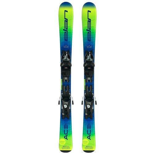 Горные лыжи детские с креплениями Elan Jett Quick Shift (21/22), 110 см