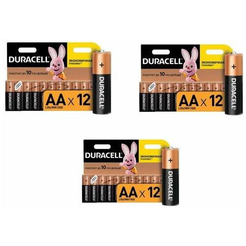 Фото - Батарейки Duracell размера AA 36шт. батарейки duracell размера aa 60 шт