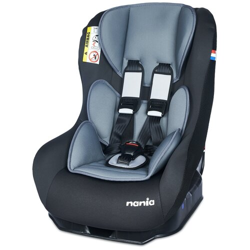 Автокресло группа 0/1 (до 18 кг) Nania Maxim Access, grey автокресло группа 0 1 до 18 кг nania driver colors blue