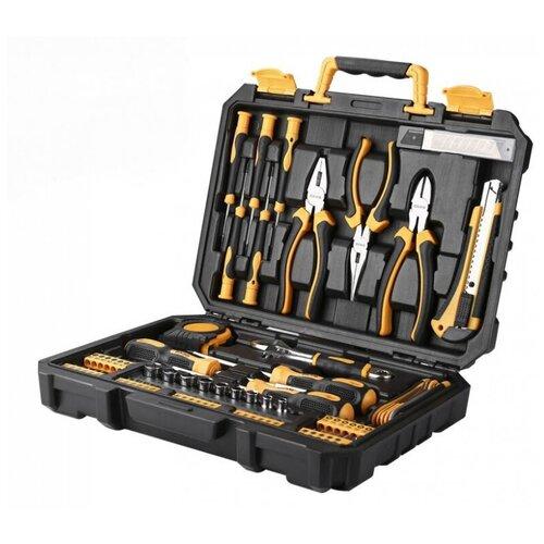 Фото - Набор инструментов DEKO TZ82, 82 предм., черный/желтый набор инструментов deko tz82 82 предм черный желтый