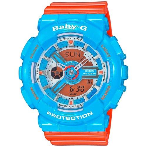 Фото - Наручные часы CASIO BA-110NC-2A casio часы casio ba 110nc 6a коллекция baby g