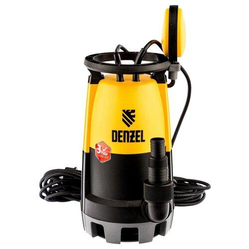 Дренажный насос Denzel DP600S (600 Вт) дренажный насос denzel dp450s 450 вт