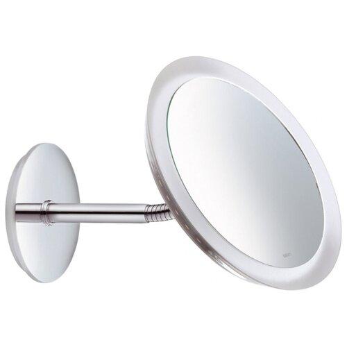 зеркало косметическое настенное keuco bella vista 17605019000 с подсветкой Зеркало косметическое настенное KEUCO Bella Vista (17605019000) с подсветкой хром