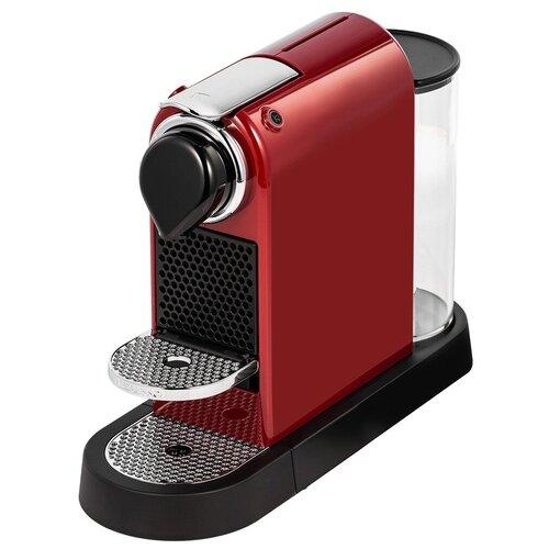 Кофемашина Nespresso C113 Citiz, красный