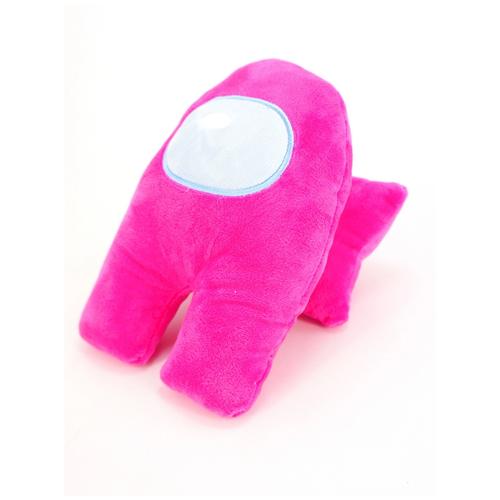 Мягкая игрушка Among Us 22 см, розовый