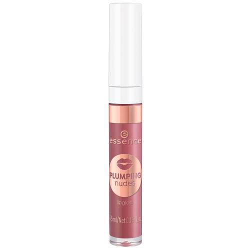 Essence Блеск для губ Plumping Nudes Lipgloss, 06 Big Bang  - Купить
