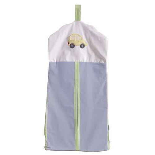 Купить Kidboo Прикроватная сумка Traffic Jam голубой, Органайзеры и карманы в кроватку