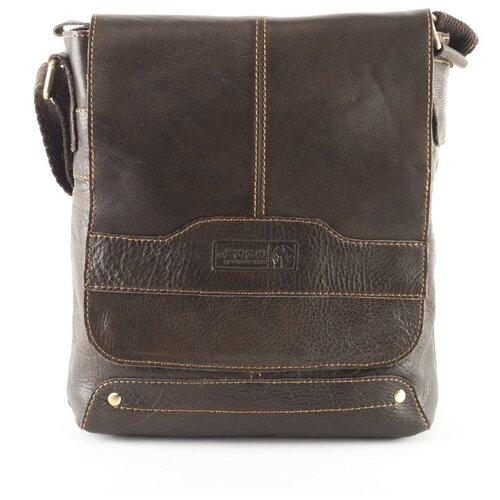 Сумка-планшет мужская XL Zolo, 1108-6 коричневая