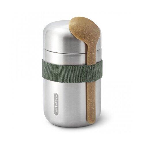 Термос для еды Food Flask B, 400 мл, оливковый