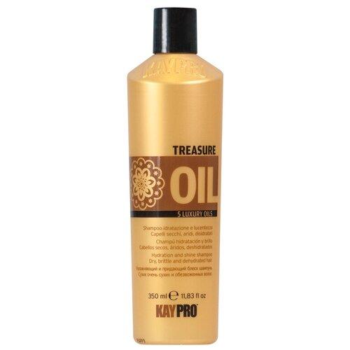 kaypro шампунь macadamia KayPro шампунь Treasure Oil увлажняющий, 350 мл