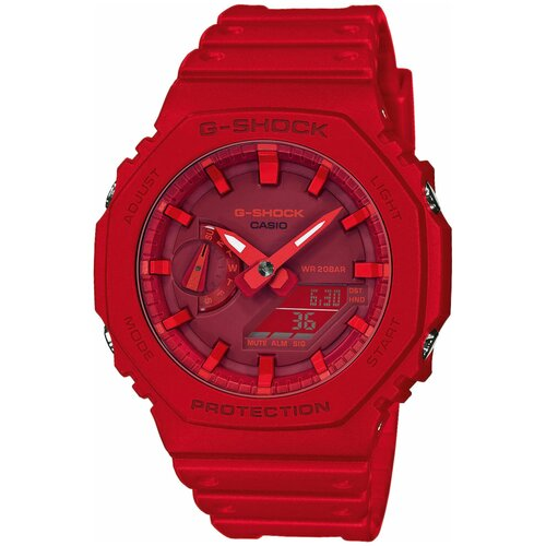 Наручные часы CASIO G-Shock GA-2100-4A наручные часы casio ga 800 4a