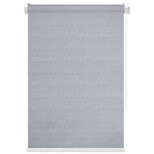 Рулонная штора FixLine Twist (светло-серый), 50х180 см