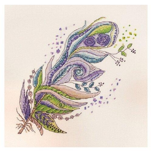 Фото - Набор для вышивания Зелено-фиолетовое 20 х 20 см МАРЬЯ ИСКУСНИЦА 16.001.02 фольга пищевая марья искусница особо прочная 29 см 10 м