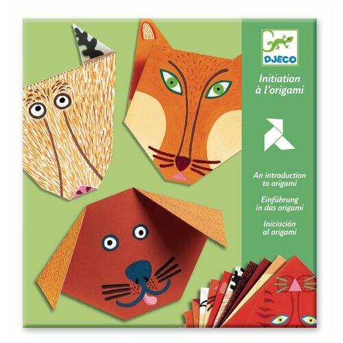 Фото - DJECO 8761 Набор для оригами Бумажные животные наборы для творчества djeco оригами полярные животные
