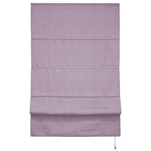 Фото - Римская штора Эскар Лея (сирень), 60х160 см римская штора эскар линза синий 160х160 см
