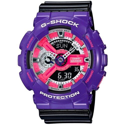 Фото - Наручные часы CASIO GA-110NC-6A casio часы casio ba 110nc 6a коллекция baby g