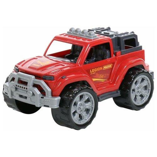 Купить Внедорожник Полесье Легион №3 (76038/76120), 38.5 см, красный, Машинки и техника