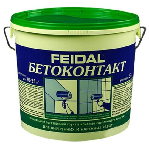 Грунт бетоноконтакт FEIDAL Бетоноконт. Feidal 5кг З