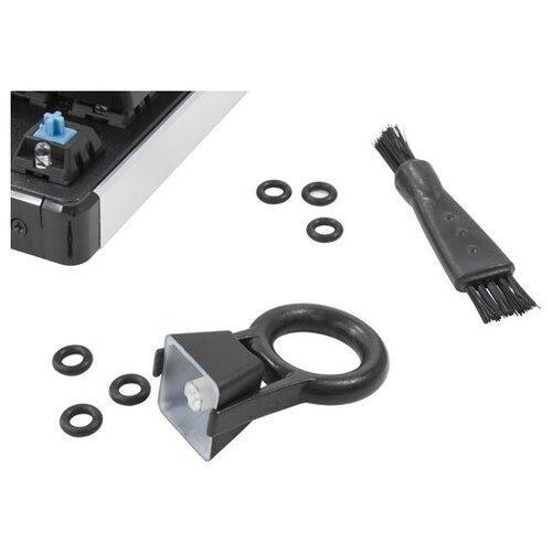 Набор QCyber Q-RINGS для обслуживания механической клавиатуры - захват для снятия клавиш, щеточки, демпфирующие кольца