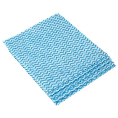 Салфетки для уборки OfficeClean, вискоза, перфорированные, 34 х 38 см, 5 шт, синий салфетка officeclean для уборки пола 70х80 см синий