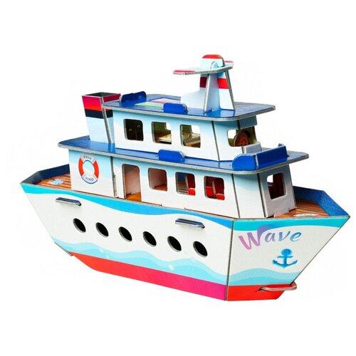 Сборная модель Умная Бумага Кораблик (432)