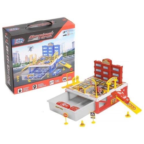 Купить Beboy Пожарный (IT106380) желтый/белый/красный, Детские парковки и гаражи
