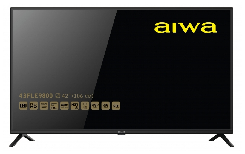 "Характеристики модели Телевизор AIWA 43FLE9800 43"" на Яндекс.Маркете"