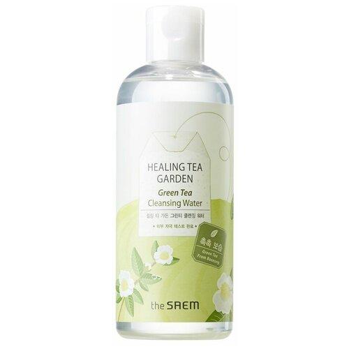 Купить The Saem вода очищающая увлажняющая с экстрактом зеленого чая Healing Tea Garden, 300 мл