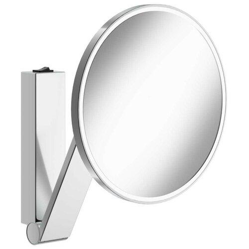 зеркало косметическое настенное keuco bella vista 17605019000 с подсветкой Зеркало косметическое настенное KEUCO iLook_ move (17612019004) с подсветкой хром