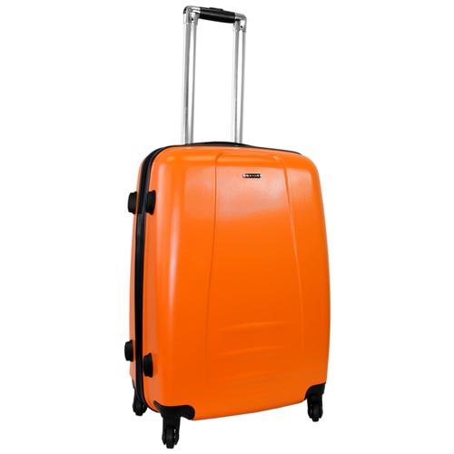 Чемодан Rion+ 418/3 62 л, оранжевый чемодан rion 418 3 62 л голубой