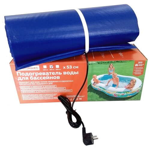 Электроподогреватель для воды в надувном (каркасном) бассейне до 4000л. Тепломакс-150