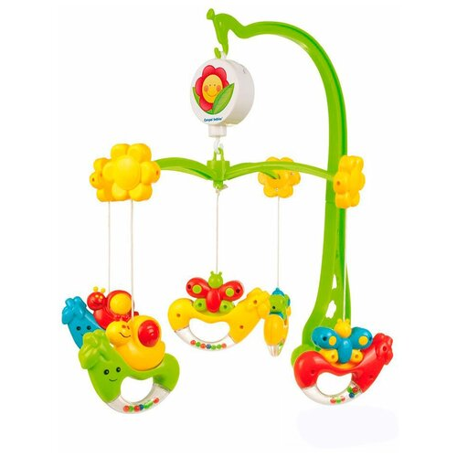 Купить Механический мобиль Canpol Babies Улитки (75/001) зеленый, Мобили