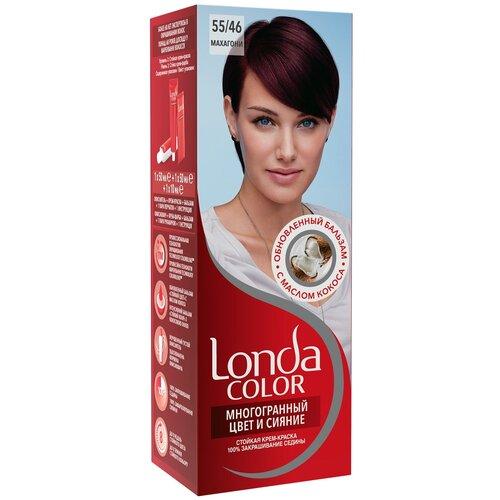 Фото - Londa стойкая крем-краска для волос Многогранный цвет и сияние, 55/46 (53) махагони londa стойкая крем краска для волос многогранный цвет и сияние 6 45 45 гранатово красный