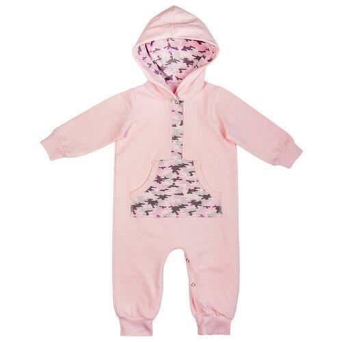 Купить Комбинезон Сонный Гномик, размер 80, розовый, Комбинезоны