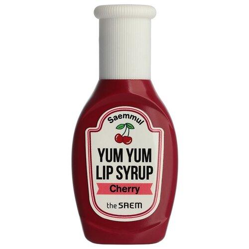 Купить The Saem Блеск для губ Saemmul Yum Yum Lip Syrup, 02 Cherry