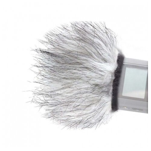 Фото - Boya BY-WS9 Меховая ветрозашита для Zoom, Tascam boya by c03 амортизатор для микрофона