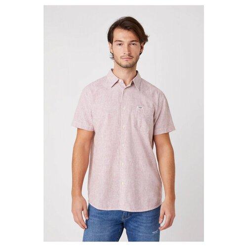 Рубашка Wrangler размер XL красный