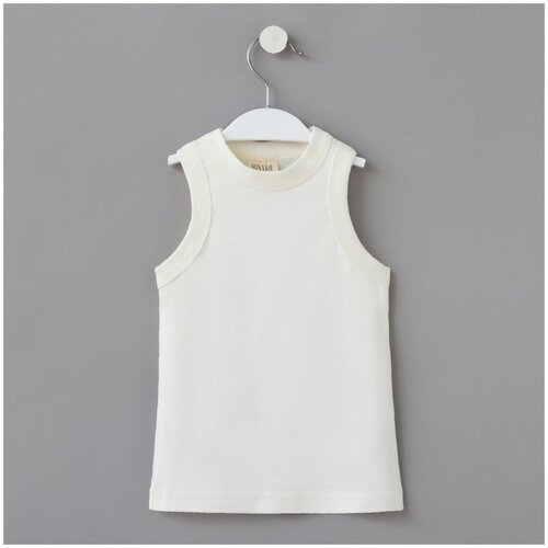 Купить Футболка Minaku размер 116, белый, Домашняя одежда