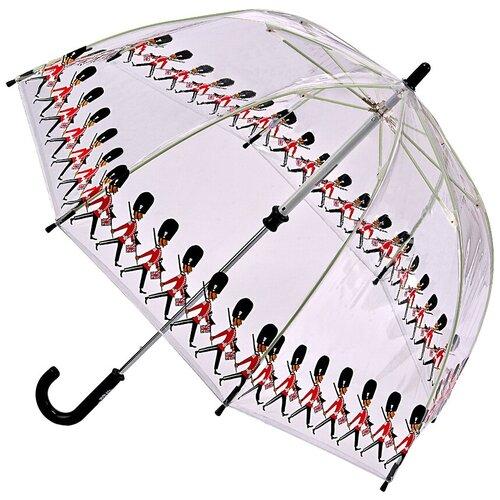 Зонт FULTON прозрачный/черный