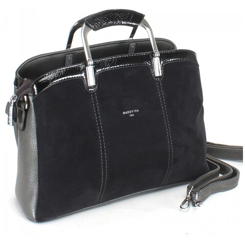 Женская сумка-тоут экокожа(искусственная кожа) + натуральная замша Kenguluna 532768